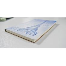 conception personnalisée en gros cahier d'impression cahier personnalisé relié