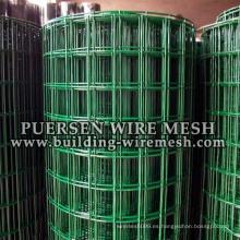 Precio competitivo El PVC revestido cubrió el acoplamiento de alambre soldado