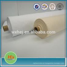 Tela branca do poliéster do algodão 50% de 50% para a folha de cama no rolo