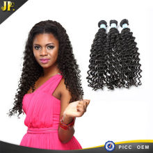 Indian hair deep wave natural color human hair extention new products 2015