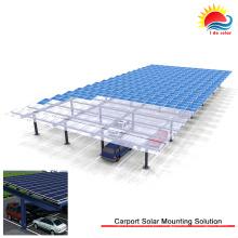 Boa qualidade painel solar sistema de montagem de telhado plano (nm0493)