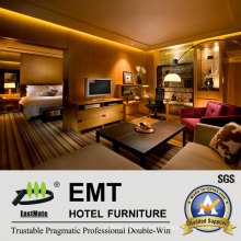 Modern Style Star Hotel Presidential Room Furniture Set (EMT-HTB05-3)
