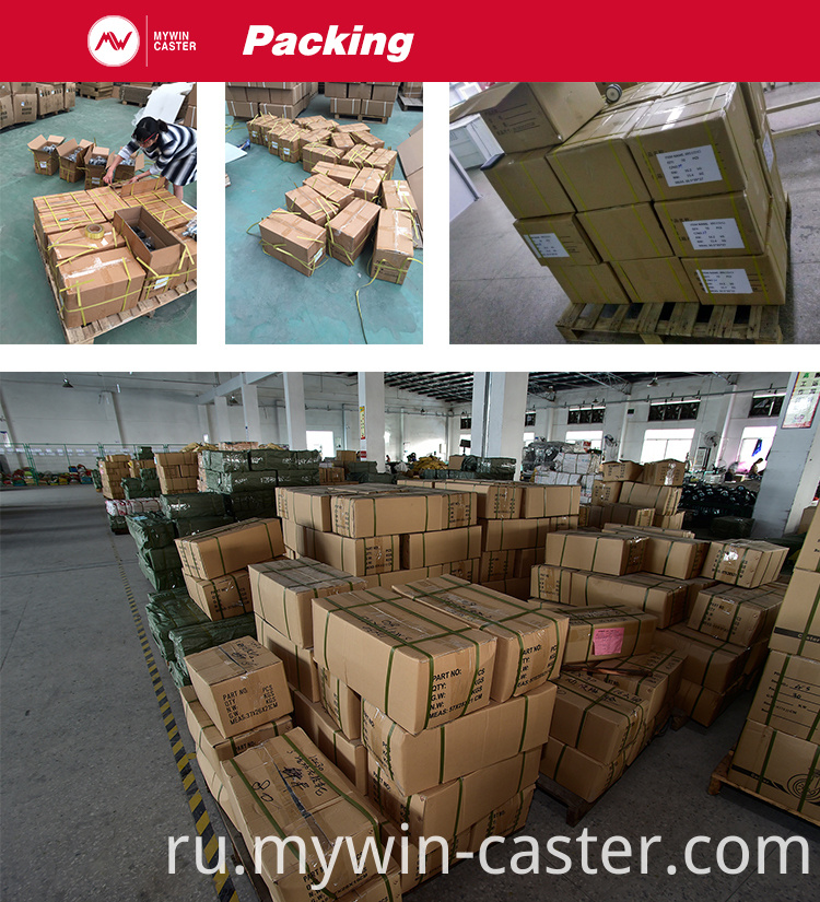 Plate Stainless Steel Fixed PU Castor