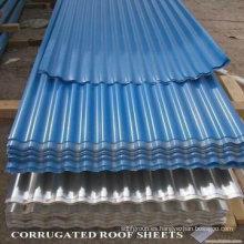 Color galvanizado cubierto de tejas Metal Steel Coil / PPGI