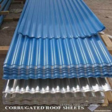 Color Galvanized Coated Roofing Tiles Metal Steel Coil / PPGI