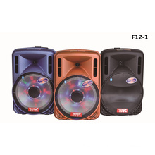 12 Inch Trolley Speaker Box with Big Power Bank Bluetooth FM F12-1