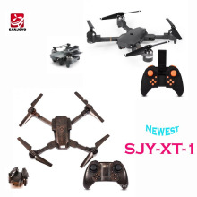 Newest Foldable drone With 720P wide angle wifi camera Optical flow positioning set height function PK E58 JY019 drone SJY-XT-1