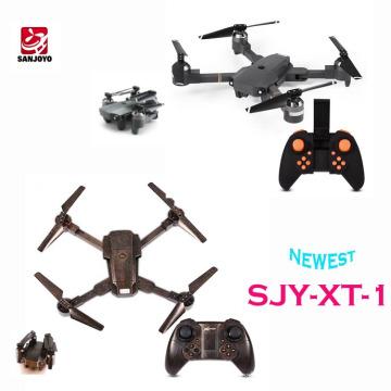 Date Drone pliable Avec 720 P caméra grand angle wifi Optique flux positionnement ensemble hauteur fonction PK E58 JY019 drone SJY-XT-1