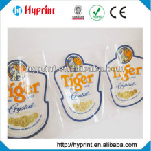 Direct manufacture printing custom self-adhesive transparent labels