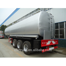 hot sale 30-50m3 fuel tanker trailer, 3 axle new semi trailer price