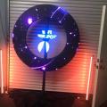 led dj magic portable rgb ring display