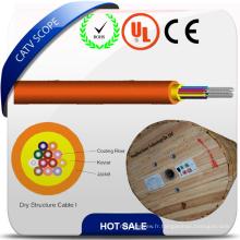 Câble de structure sèche de câble optique de fibre de FTTH