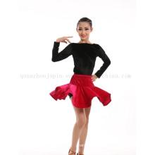 OEM Custom Adult Children Kids Ballroom Latin Dance Dress