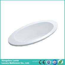 Cheap Ellipse Acrylic Built-in Bathtub (LT-6P)
