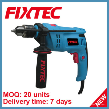 Furadeira Fixtec Powertools 800W 13mm de impacto de ferramenta manual com brocas (FID80001)