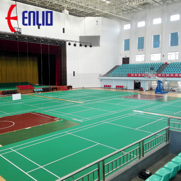 Enlio badminton court floor matta med BWF