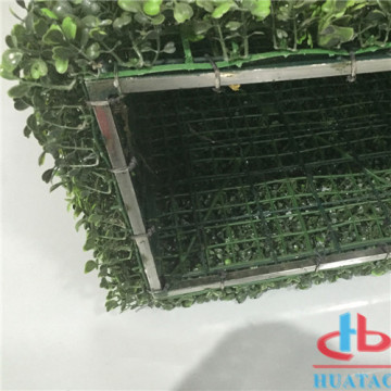 Open Air UV Resistant Decoration Buatan Boxwood Hedge
