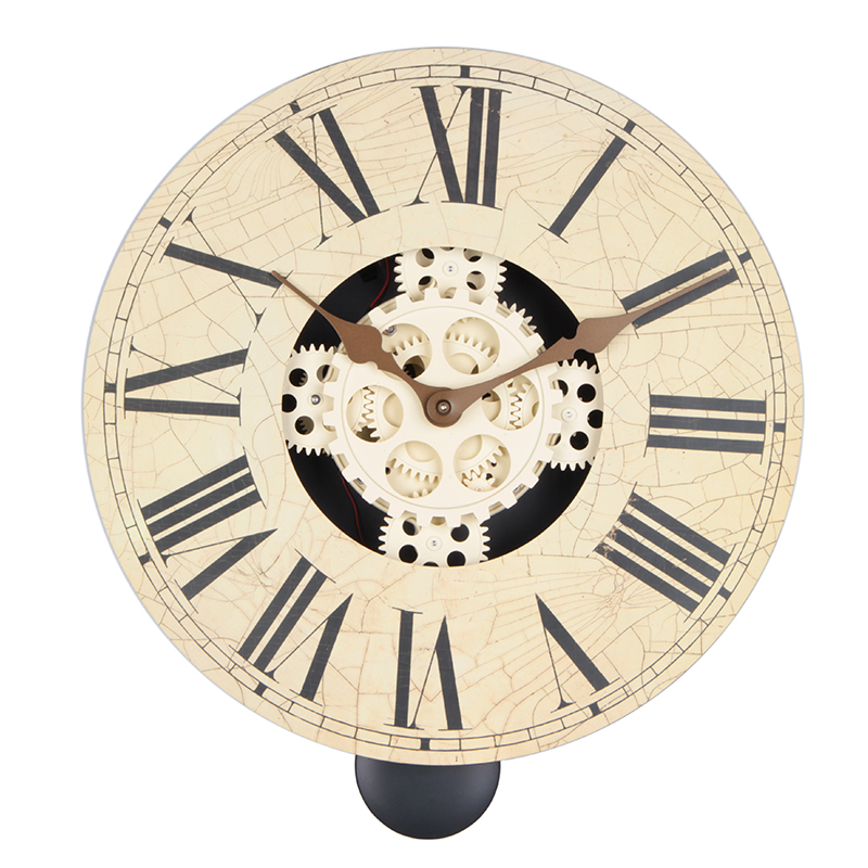 14 inches wall clock