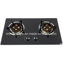Promotion 2 Burners 730 Length Glass Top Stainless Steel Built-in Hob/Gas Hob