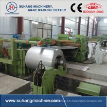 Redressage et nivellement de la bobine d'acier