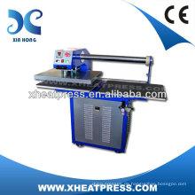 Großes Format Vollautomatisches Pneumatisches Handbuch T Shirt Druckmaschine