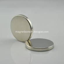 N40 D40*5mm Ndfeb neodymium circular magnet