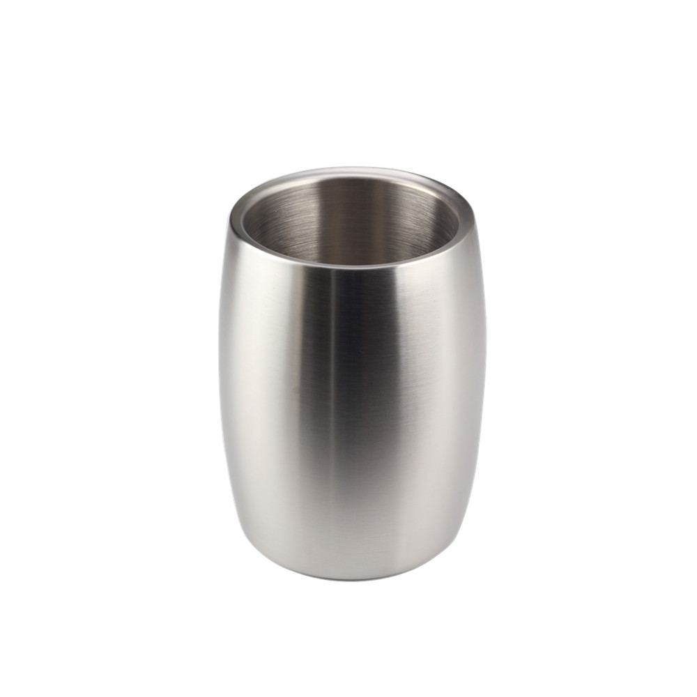 Satin Polishing Ice Bucket