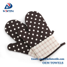 High quality professional home necessities microwave oven glove with potholder High quality professional home necessities microwave oven glove with potholder