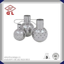 Rotary Sanitary Stainless Steel Clamped Cleaning Ball
