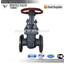 Russian standard carbon steel stem gate valve prices