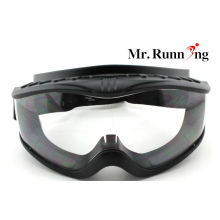 Comfortable Black Frame Safety Eye Protection Goggles For Lab