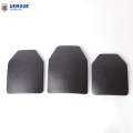 NIJ III stand light weight Single Curve hard ballistic plates bulletproof insert