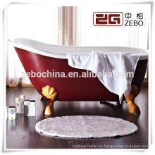 2014 Estera del piso del algodón del diseño 16s más nuevo para el baño del hotel