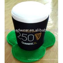 Chapeau de bière de carnaval St Patrick