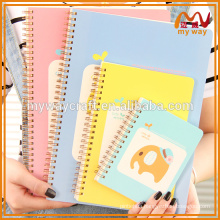 personalized elephant digital printing cover memo pad & notepad for company