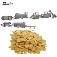 Línea de procesamiento de extrusión de copos de maíz de arroz