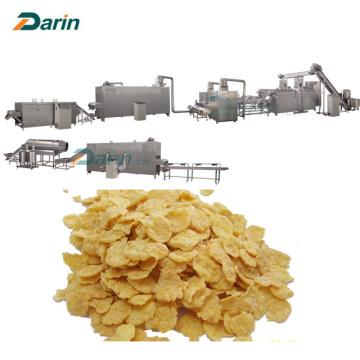 Ligne de traitement d'extrusion de flocons de maïs de riz