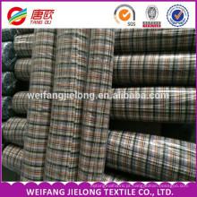 100% algodão fio tingido tecido / tecido de algodão dos homens tingido 100% algodão fio tingido tecido de lã tecido tingido