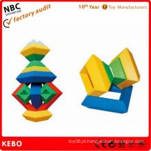 Brinquedos plásticos da construção inteligente