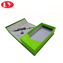 Caja de regalo de embalaje del imán del cargador del coche con la suspensión