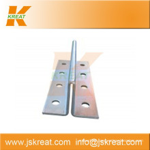 Elevator Parts|Guiding System|Elevator Hollow Guide Rail Fishplate|fishplate for elevator guide rail