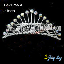 Crystal wedding tiara hair accessories