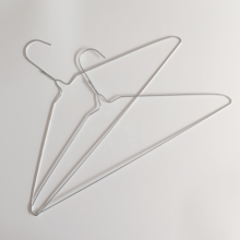 Laundry Galvanized Metal Clothes Wire Hanger