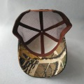 Outdoor Cap Camo Baseball Cap Cotton Mesh Trucker Hat