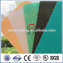 2015 neues design dimond polycarbonat geprägtes strukturiertes lexan pc sheet