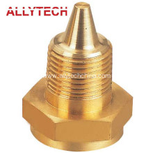 CNC Machining Brass Nozzle