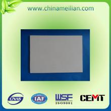 Hoja de fibra de silicona laminada aislada