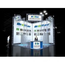 Exhibition booth stand design modular exhibition display system light truss system Exhibition booth stand design modular exhibition display system light truss system