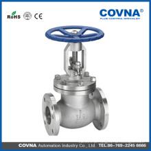 Válvula de globo de flange de aço CF8 do vapor ANSI com preço mais barato