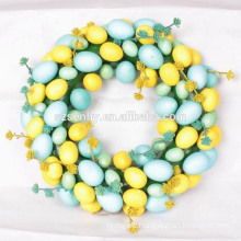 Artifical handcraft indoor Decorations Easter egg Wreath